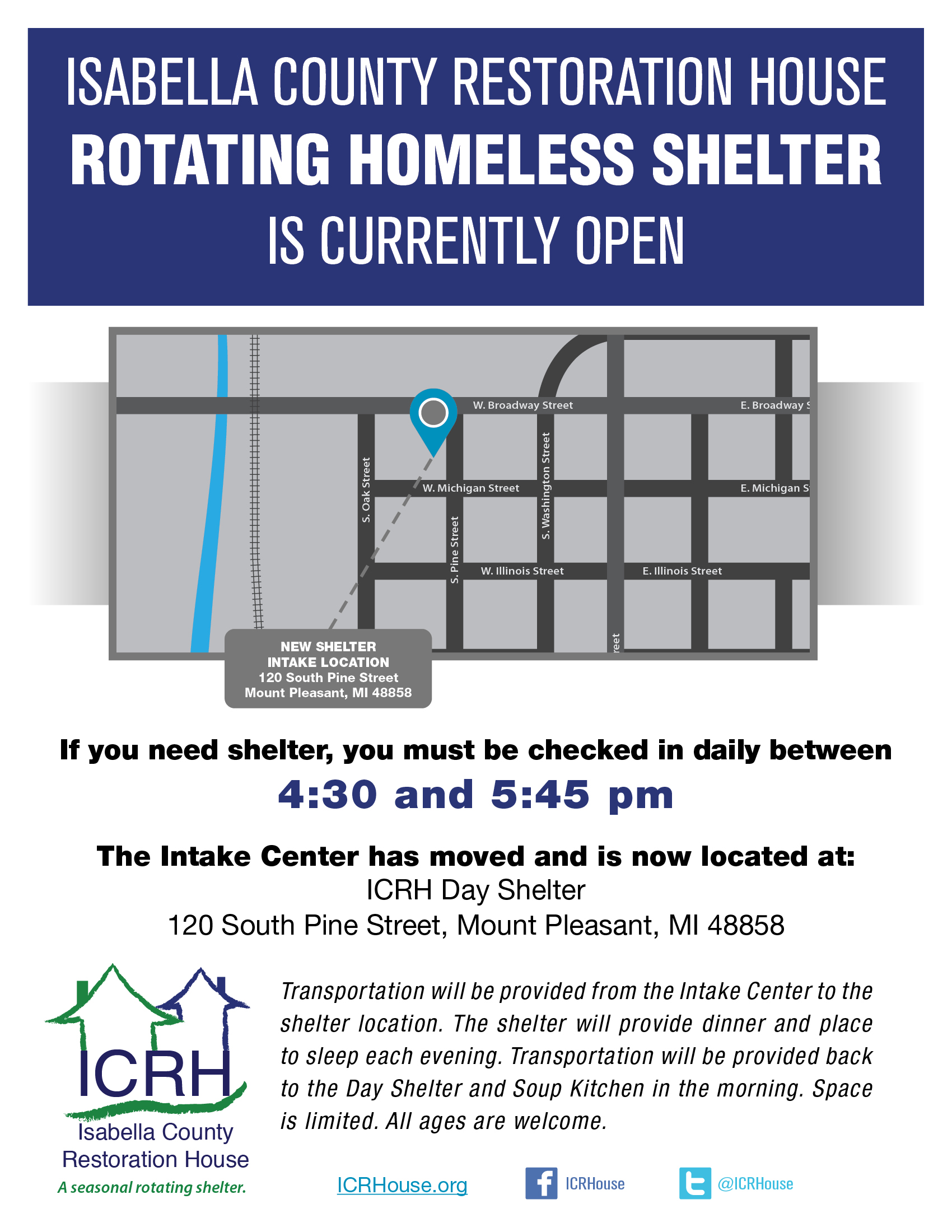 ICRH Shelter current Flyer 2019